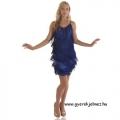 20-as évek - kék flapper ruha