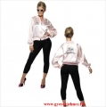 50-es évek Grease Pink Ladies dzseki