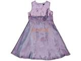 Alkalmi ruha - koszorúslány ruha halvány lila 2