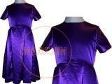 Alkalmi ruha sötét lila - Aranyhaj jelmez