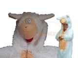 Bárány jelmez fehér