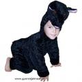 Bárány jelmez fekete