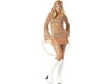 70-es évek Disco Doll jelmez - hippie